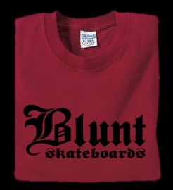 Blunt Skateboards T-shirt Colors